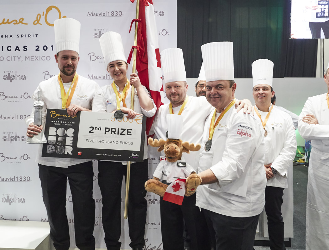 Team Canada brought home the silver at Bocuse d'Or semi-finals